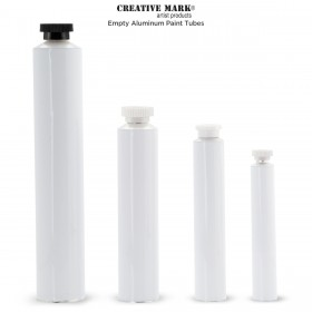 Empty Aluminum Paint Tubes by Creative Mark