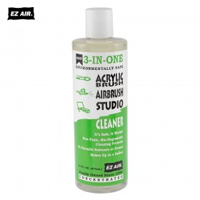 EZ AIR Acrylic 3-In-One Brush Cleaner