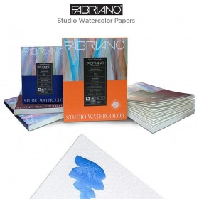 Fabriano Studio Watercolor Paper Sheets, Pads and Blocks