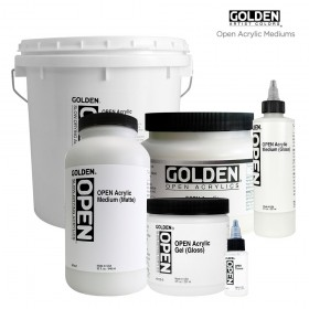 GOLDEN Open Acrylic Mediums