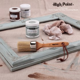 "Creative Mark High Point 2"" Diameter Paint, Chalk and Wax Finishing Brush"