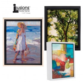 "Illusions Floater Canvas Frames 1-1/2"" Deep"