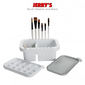 Jerry's Brush Washer and Basin