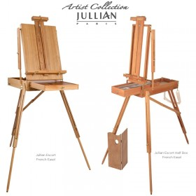 Jullian Escort French Easel & Half Box French Easel