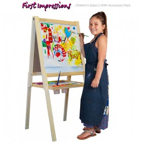 First Impressions Children's Easel 2 with Accessory Pack