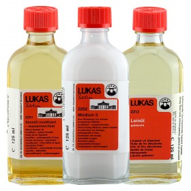 LUKAS Berlin Water Mixable Oil Color Mediums