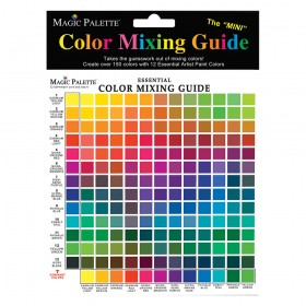 Magic Palette Mini Color Mixing Guide- 150 Color Mixer