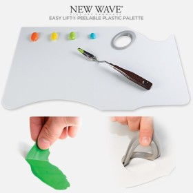 New Wave Easy Lift Peelable Plastic Palette