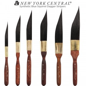New York Central Natural & Synthetic Blue Squirrel Dagger Stripers