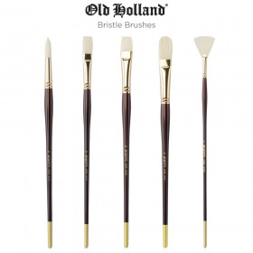 Old Holland Chunking Bristle Professional Brushes