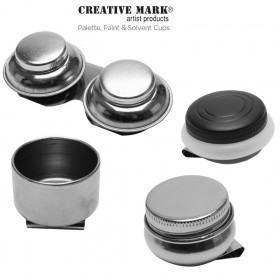 Creative Mark Palette, Paint & Solvent Cups