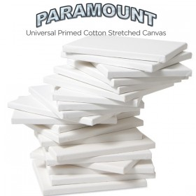 "Paramount 3/4"" Professional Cotton Stretched Canvas Bulk Packs"
