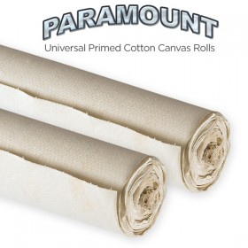 Paramount Universal Primed Cotton Canvas Rolls