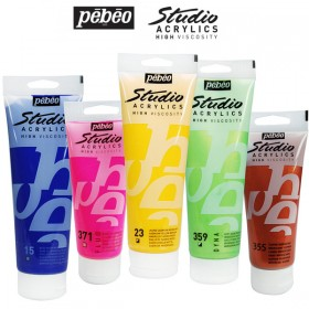 Pebeo Studio High Viscosity Acrylics Open Stock