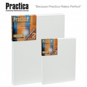 Practica Economy Stretched Cotton Canvas