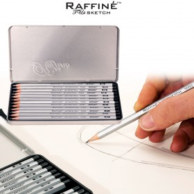 Raffiné Artist Pure Graphite Pencil Sets