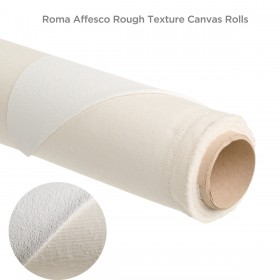 Roma Affesco Rough Texture Professional Canvas Rolls