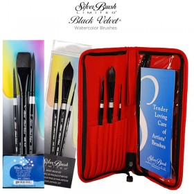 Silver Brush Black Velvet® Watercolor Brush Sets