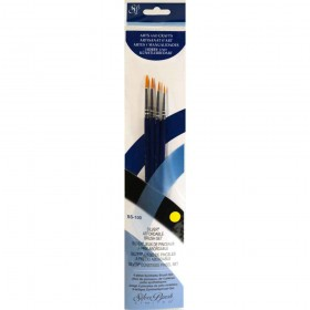 Silver Brush Sterling Studio Detail Brush Sets