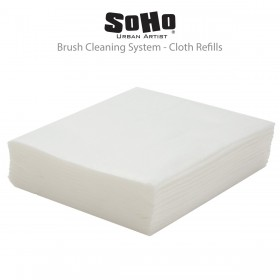 SoHo Urban Artist Brush Cleaning System Refill Cloths