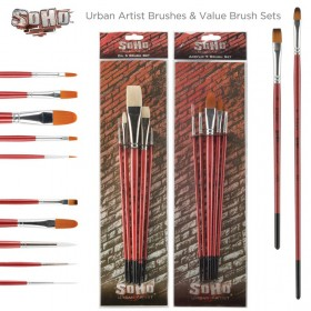 SoHo Urban Artist Brushes