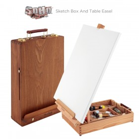 SoHo Deluxe Sketch Box And Table Easel
