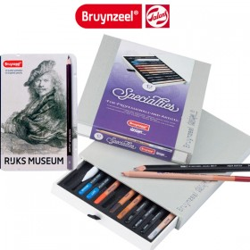 Bruynzeel Design Specialties Drawing Pencil Box Set of 12