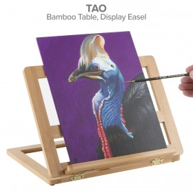Creative Mark Tao Bamboo Table Easel and Drawing Stand