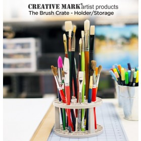 Creative Mark Brush Crate Brush Storage Holder