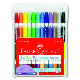 Faber-Castell Red Range Premium Children's Washable Markers