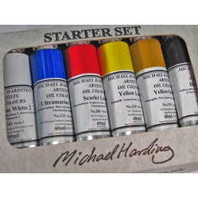 Michael Harding Artists' Oil Colour Sets