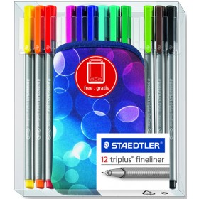 Staedler Triplus Fineline Pen Set with Cell Phone Case