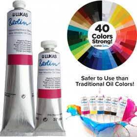 LUKAS Berlin Water Mixable Oil Colors