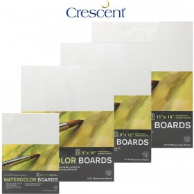 Crescent Watercolor Art Boards