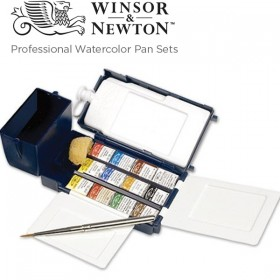 Winsor & Newton Professional Watercolor Pan Sets