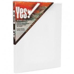 "Yes! All Media Cotton Stretched Canvas 3/4"" Deep"