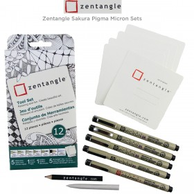 Zentangle Sakura Pigma Micron Sets