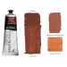 Interactive Professional Acrylic 80 ml Tube - Burnt Sienna