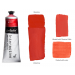 Interactive Professional Acrylic 80 ml Tube - Cadmium Red Lt. (Scarlet)