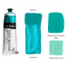Interactive Professional Acrylic 80 ml Tube - Cobalt Turquoise Lt.