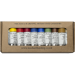Michael Harding Handmade Artists' Oil Color Plein Air Painter Set of 10, 40 ml tubes