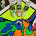 Artwork painted exclusively with Turner Acryl Gouache's Luminescent Colors.