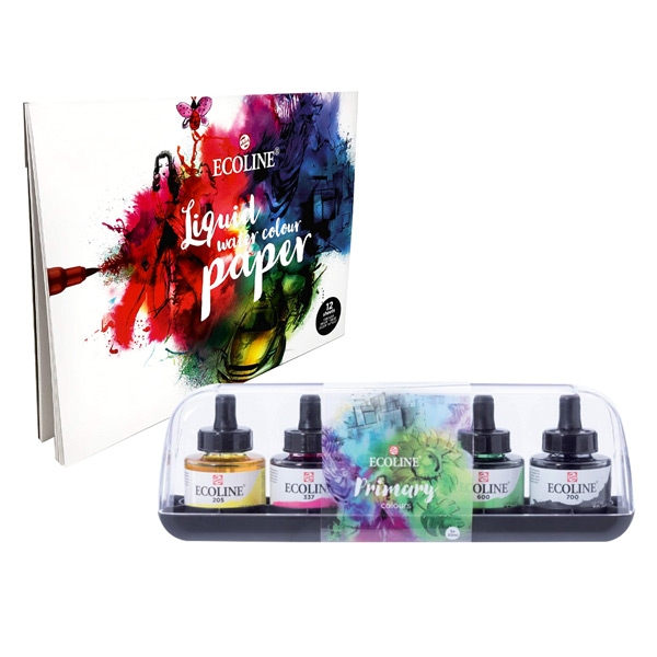FW Acrylic Ink Shimmering Set of 6