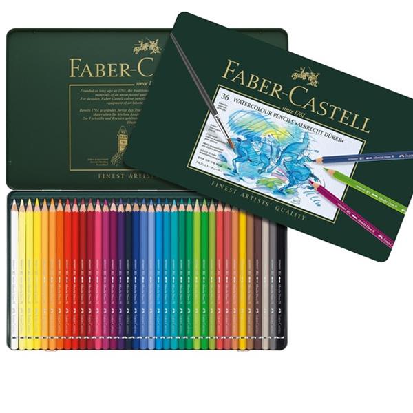 Faber-Castell Albrecht Durer Watercolor Pencils Tin Set of ...