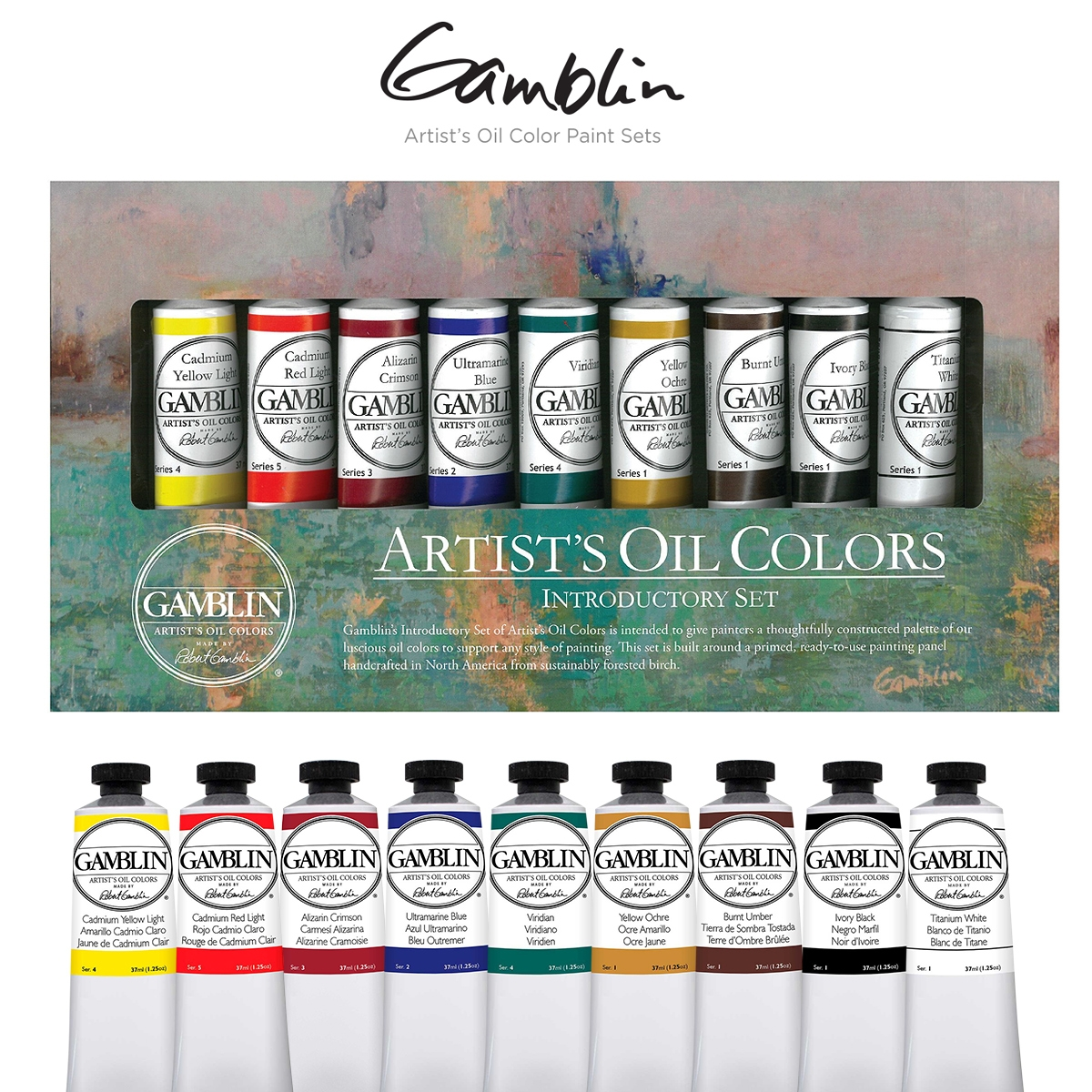 Gamblin Artists Oil Color Sets