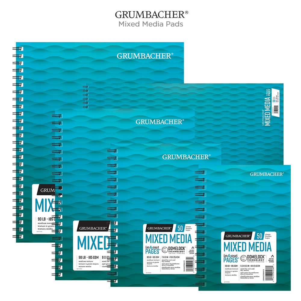 Grumbacher Mixed Media Pads