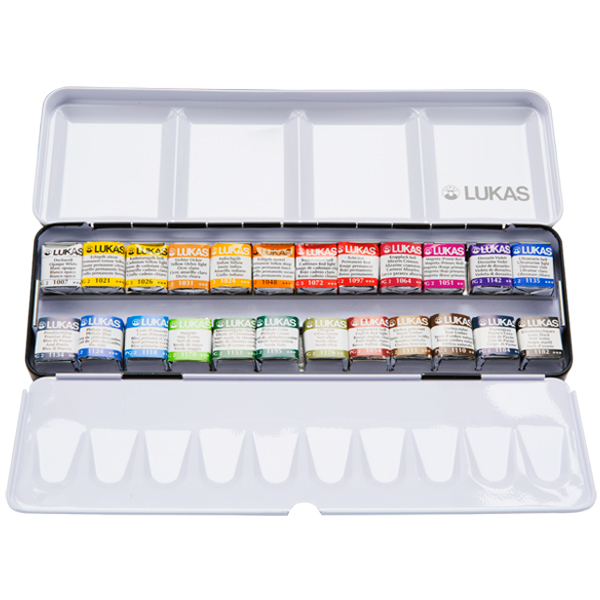 Lukas Aquarell 1862 Artists' Watercolor Sets