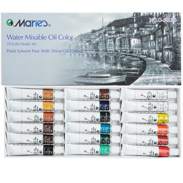 Marie's Water Soluble Oil Colors 18 Set