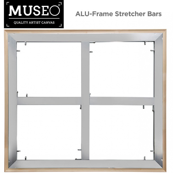 LIMITED TIME ONLY PRICE DROP! MUSEO ALU-Frame Aluminum Stretcher Bars