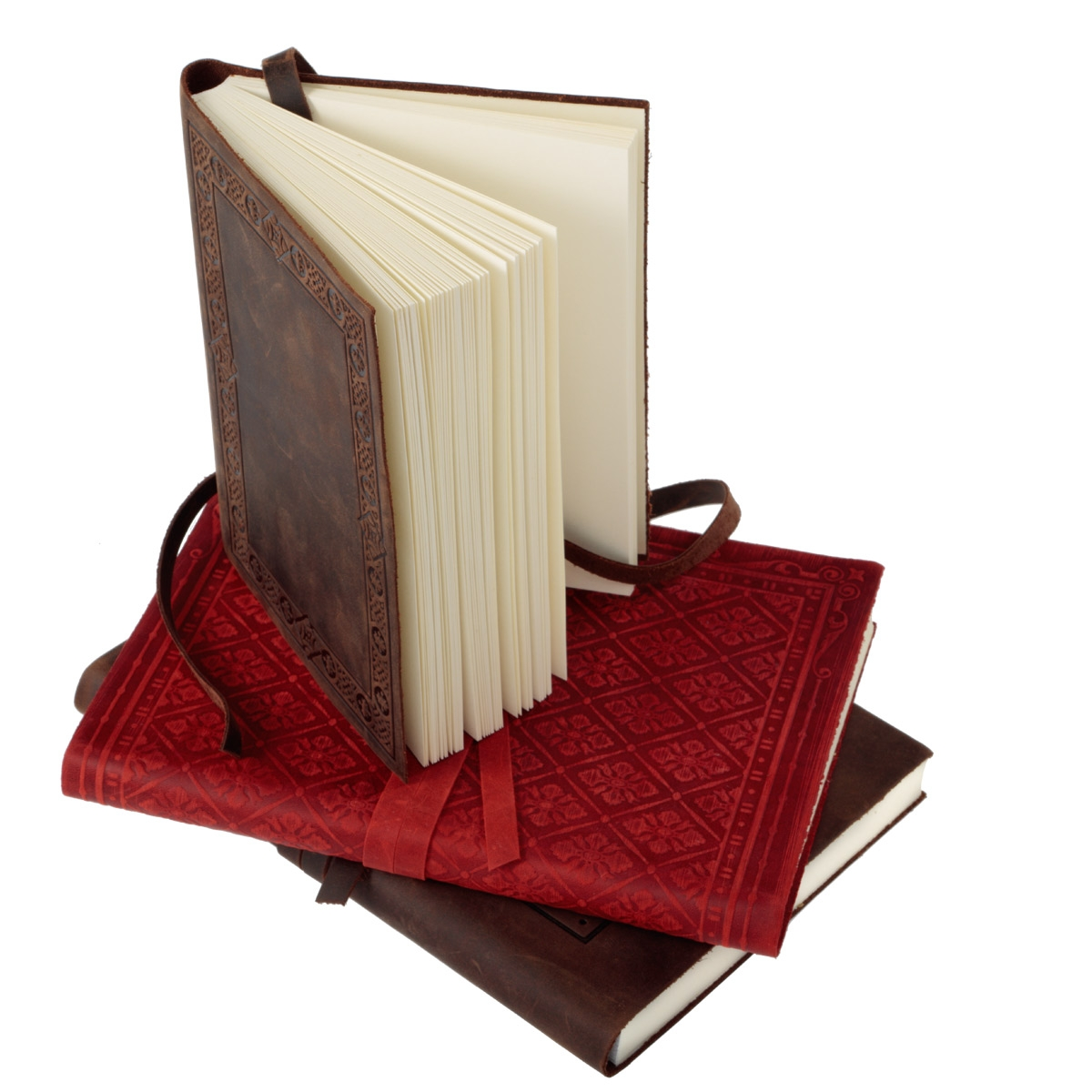 Old World Luxury Italian Leather Bound Soft Cover Sketch Books